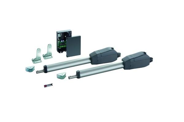 Sommer Twist 350E elektronischer Doppeltorantrieb Komplett-Set für Garten- & Einfahrtstore 2-flügelig-Copy