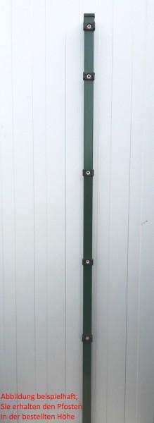 Pfosten einzeln / Grün / für Zaunfeld 103cm (150cm) / incl. Zubehör