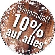 Mind. 10% Winterrabatt auf alles