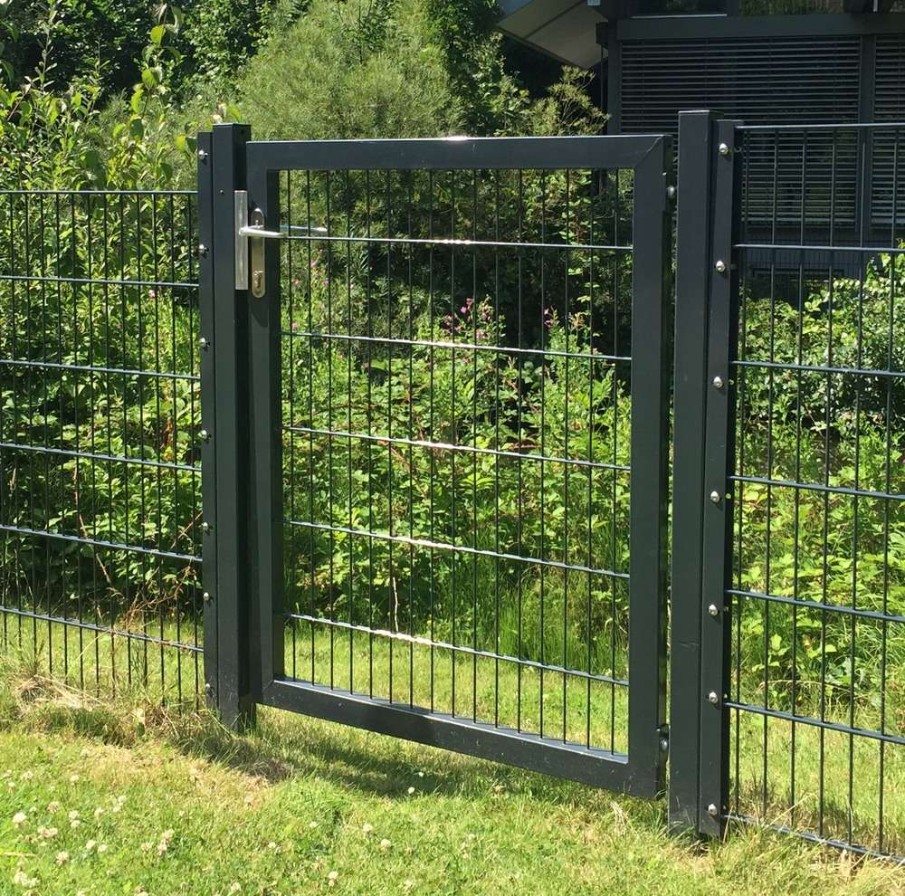 Beliebt Gartentor / Zauntür Premium für Stabmattenzaun Breite 100cm x Höhe HQ03