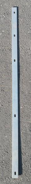 Abdeckleiste für Zaunpfosten verzinkt (für Zaunfelder der Höhe 123cm)
