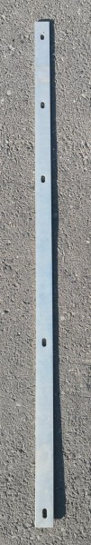 Abdeckleiste für Zaunpfosten verzinkt (für Zaunfelder der Höhe 83cm)