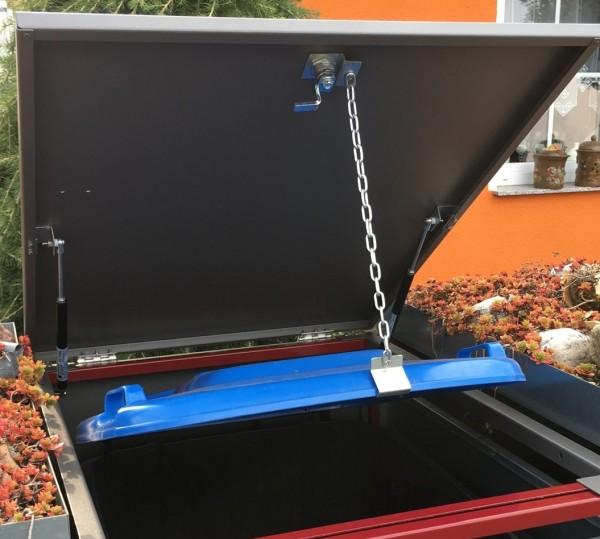 Gasdruckdämpfer-Set für Mülltonnenboxen