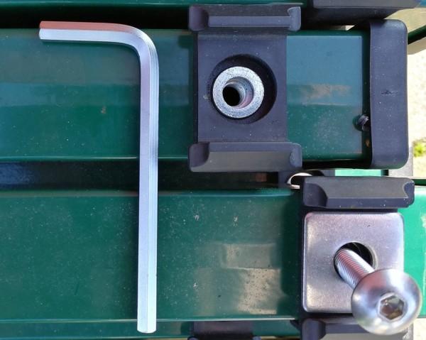 Winkelschraubendreher Innensechskant 5,5mm für Montage von Stabmattenzäunen