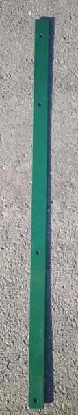 Abdeckleiste für Zaunpfosten Moosgrün (für Zaunfelder der Höhe 123cm)